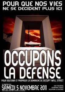 Occupons La Défense