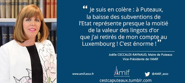 Ceccaldi Maire en colère