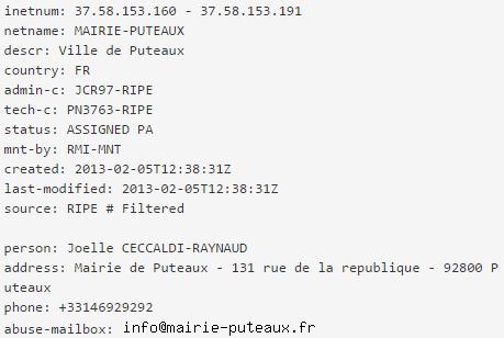 Trace IP Ceccaldi