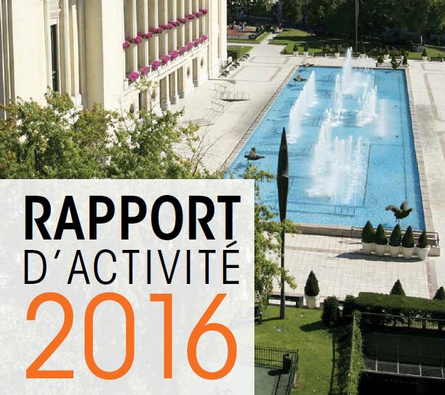 Budget 2016 : présentation du rapport d'activité
