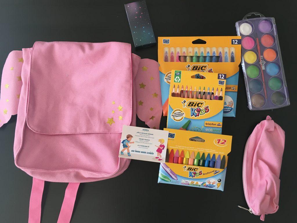 Cadeaux de rentrée pour les maternelles à Puteaux
